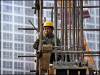 Edificio en construcción en Pekín