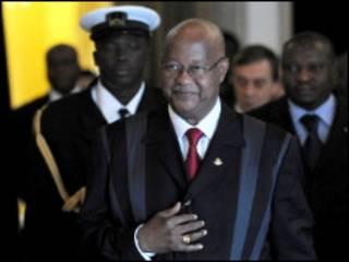 Firimiyan kasar Guinea