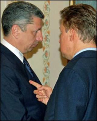 А. Міллер і Ю. Бойко (архівне фото)