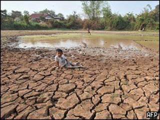 Tình trạng khô hạn ở Thái Lan