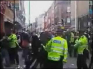 Полиция у магазина