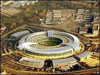 Sede de GCHQ en Cheltenham, Reino Unido.