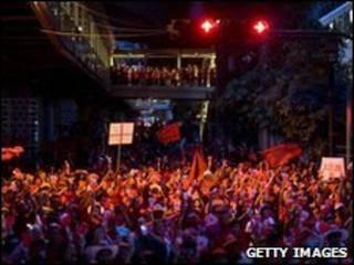 Người biểu tình phe áo đỏ Thái Lan