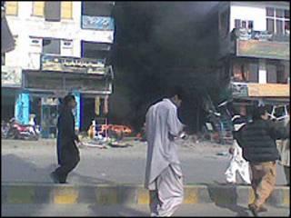 पेशावर में धमाका (फ़ाइल फ़ोटो)