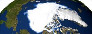 Casquete polar ártico