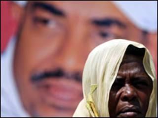 امرأة سودانية