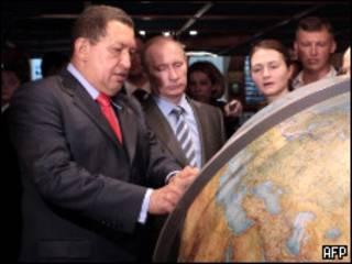 Чавес и Путин