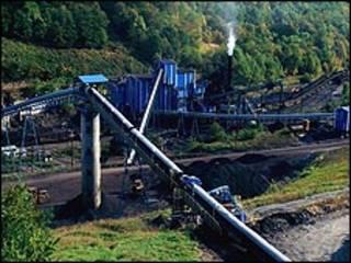 Mina em West Virginia. Foto: Eyewire