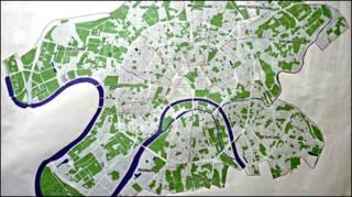 Зоны реорганизации в Центральном округе (после первого чтения в Мосгордуме)