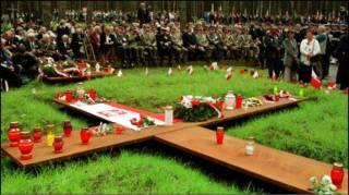 Вшанування розстріляних у Катині