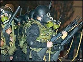 Қирғиз милицияси махсус кучлари
