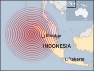 Mapa de Sumatra