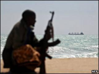Сомалиец с оружием
