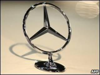 Símbolo de Mercedes-Benz