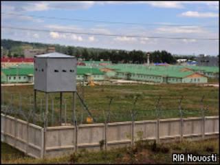 Российская военная база в Южной Осетии