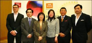 参加讨论会的嘉宾(左起):凌家辉、吴克刚、卢曼华、杜淑真、梁辛尼、李泽文。
