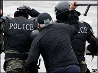 Kirguistán disturbios