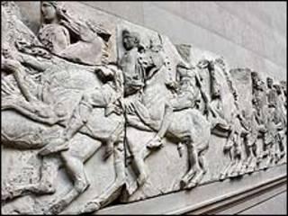 Mármoles Elgin del Partenon