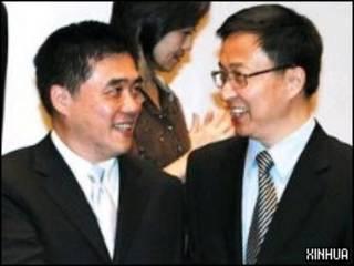 郝龍斌與韓正