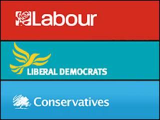 احزاب اصلی بریتانیا