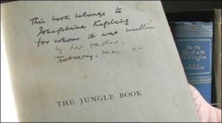 """Primera edición de """"El Libro de la Selva"""