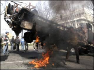 اشتباكات بقيرغيزستان