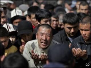 Duelo en Kirguistán