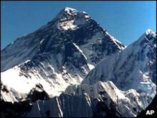 ارتفاع قله اورست