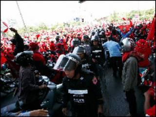 درگیری ها در بانکوک
