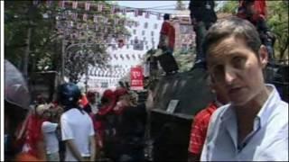 Phóng viên BBC Rachel Harvey tại Bangkok