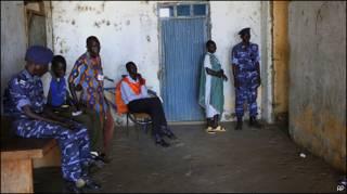 На избирательном участке в южном Судане