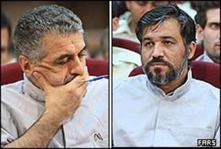 علی تاجرنیا و محسن صفایی فراهانی