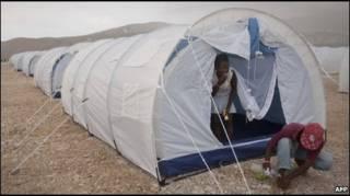 Бездомные на Гаити