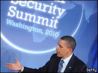O presidente dos EUA, Barack Obama, antes do encontro