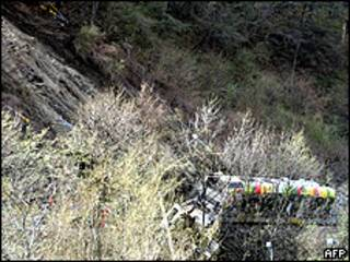 Accidente tren en Merano, Italia