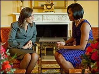 Margarita Zavala y Michelle Obama