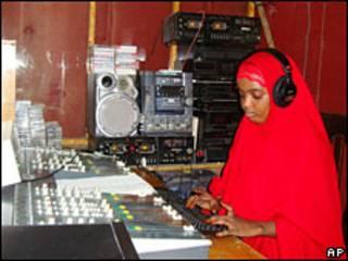 Emisora de radio en Somalia