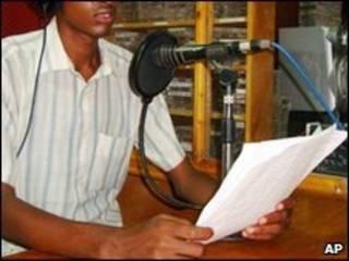 Rádio em Mogadíscio