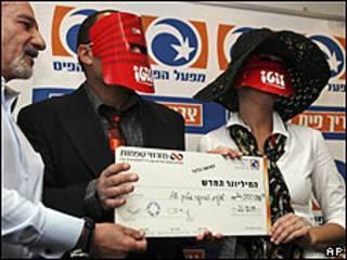 La pareja premiada con el mayor premio de la lotería israelí