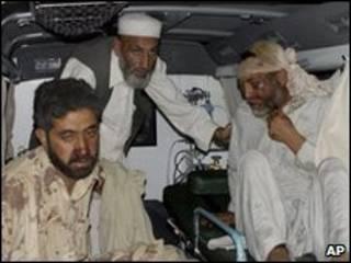 Все пострадавшие отправлены в госпиталь на окраине Пешавара
