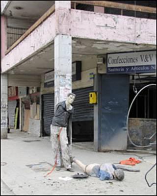 Talcahuano, Chile, tras el terremoto