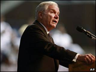 Robert Gates, secretario de Defensa de Estados Unidos