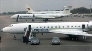 Урядові Ту-134 та Іл-62