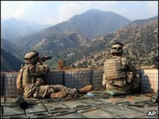 سربازان ناتو در شرق افغانستان (عکس از آرشیو)