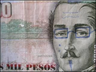 Billete colombiano