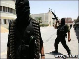 Integrantes do Hamas (arquivo)