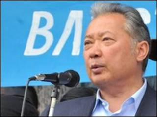 Presiden Kurmanbek Bakiyev