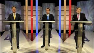 مناظره رهبران سه حزب