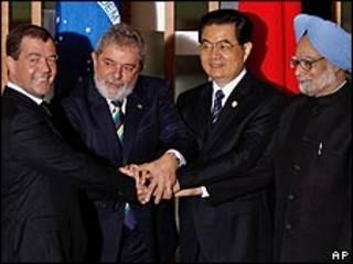 Presidentes dos BRICs