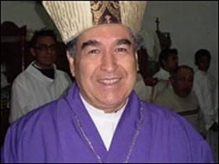 Felipe Arizmendi, obispo de San Cristóbal de las Casas, Chiapas, al sur de México